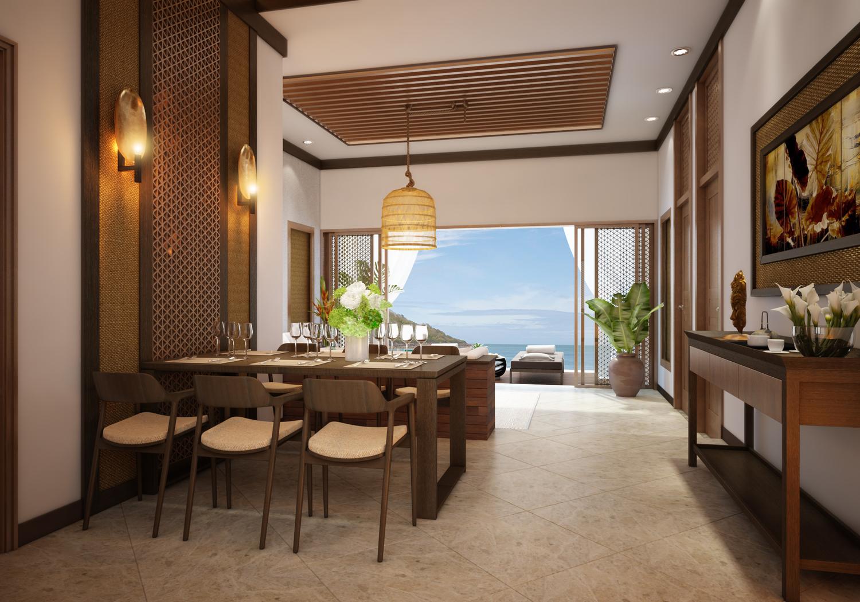 Thiết kế biệt thự biển Hồ Tràm
